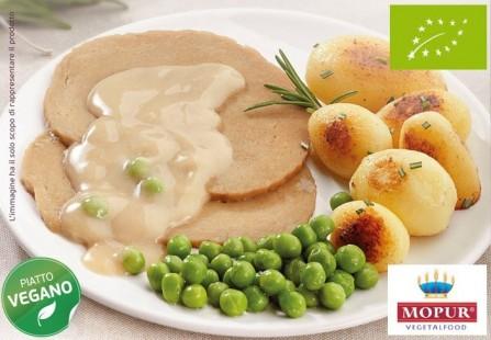 BIO Arrosto Vegan di Mopur con patate e piselli 300g